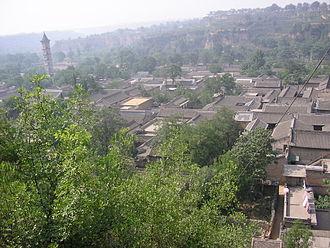 Hancheng - Skyline of Hancheng