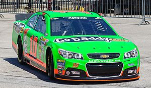 Generation 6 (NASCAR) - Danica Patrick in a 2013 Chevrolet SS at Texas Motor Speedway