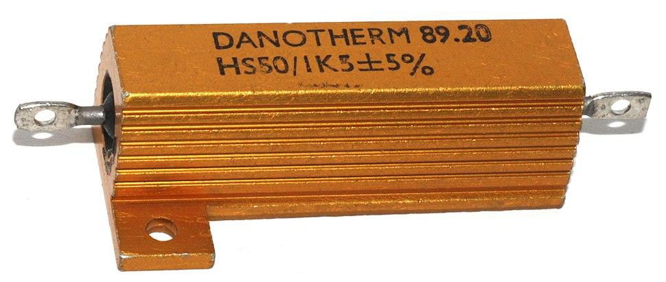 Danotherm HS50 power resistor