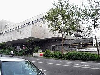 Bundesstraße 26 - The Staatstheater Darmstadt on Bundesstraße 26