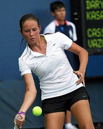 Daria Kasatkina - Kasatkina at the 2013 US Open