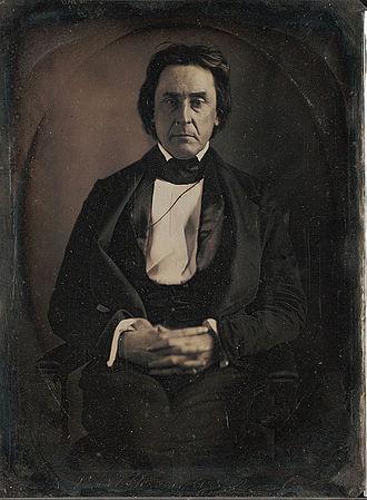 David Rice Atchison - Image: David Rice Atchison by Mathew Brady March 1849