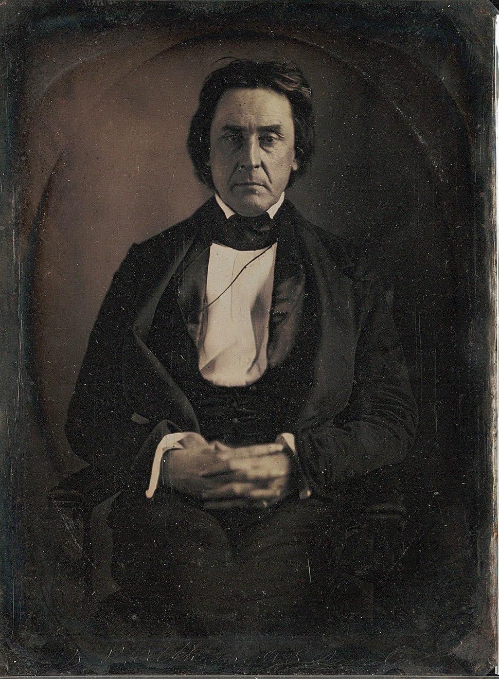David Rice Atchison by Mathew Brady March 1849