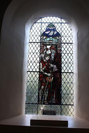 Douglas Strachan - David being anointed by Samuel, Dirleton Kirk, by Douglas Strachan