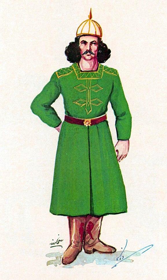 Daylamite infantryman