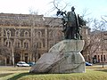 Deák Ferenc statue, Széchenyi Square, Szeged, Hungary - panoramio (9).jpg
