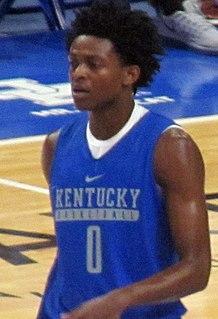DeAaron Fox American basketball player