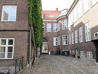 De Coninck House - The courtyard