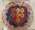 De Grey Hours f.112.r Arms of De Quincy, Earls of Winchester.png
