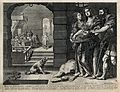 Decapitation of Saint John the Baptist. Engraving. Wellcome V0033498.jpg