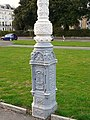 Decorative iron lamp post - geograph.org.uk - 1837270.jpg
