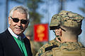 Defense Secretary Chuck Hagel at Camp Lejeune 141118-D-AF077-088.jpg