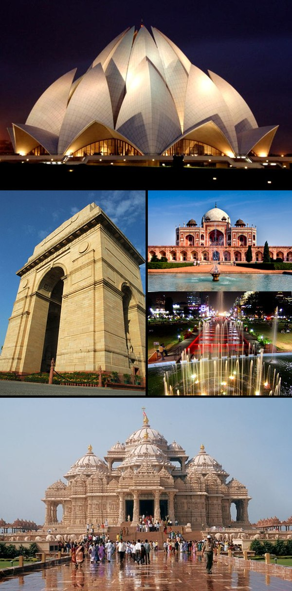 Pictures of New Delhi
