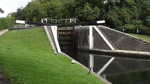 Denham Lock on Grand Union Canal
