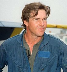 O actor estatounitense Dennis Quaid.