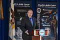 Deputy Defense Secretary Bob Work speaks at the Defense Department's first Lab Day at the Pentagon, May 14, 2015 150514-D-xxxxH-001.jpg