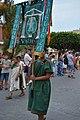Desfile ibero romano estandarte adoradores de la diosa Venus.jpg
