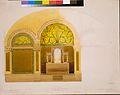 Design for the altar wall from Saint John's Refomed Church, Allentown, Pennsylvania MET ADA3307.jpg