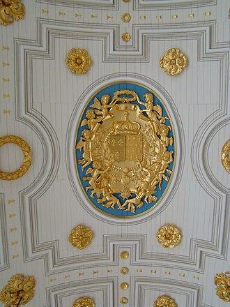 Parlement of Brittany - Image: Detail Salle des pas perdus