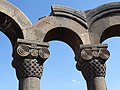 Detail of Arches - Zvartnots Cathedral - Near Yerevan - Armenia (18370942863).jpg