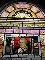 Detail of Stained Glass window depicting William Herschel, Coats Observatory, Paisley.jpg