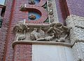Detall de la decoració del mercat de Colom de València.jpg
