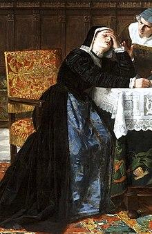 Detalle de Doña María Pacheco después de Villalar (Museo del Prado) (cropped).jpg