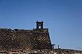 Detalle del torreón del Castillo de San Gabriel en Arrecife.jpg
