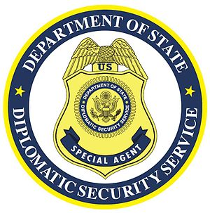 Bureau of Secret Intelligence - Diplomatic Security Service seal