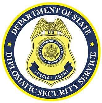Bureau of Secret Intelligence - Diplomatic Security Service seal