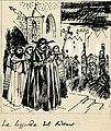 Disegno per copertina di libretto, disegno di Guido Crepax per La leggenda del ritorno (s.d.) - Archivio Storico Ricordi ICON012292.jpg