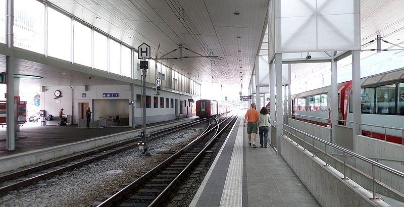 File:Disentis or Mustér Railway Station - interior - looking east.JPG