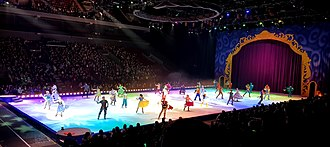 Disney on Ice - Disney on Ice in Malmö, Sweden on January 17, 2019.