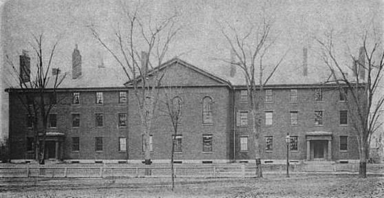 DivinityHall HarvardUniversity ca1880s