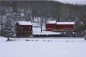 Boonton Township, New Jersey - Dixon Homestead in Winter