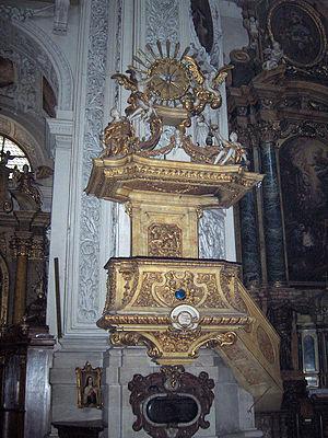 Matthias Steinl - Pulpit of the Dominican Church in Vienna