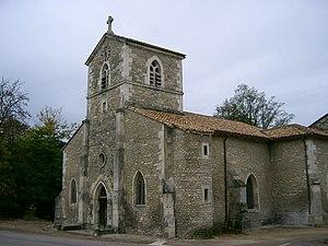Domrémy-la-Pucelle - Image: Domrémy l'église