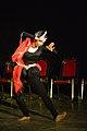 Dorothy Bhattacharya Dancing With Rabindra Sangeet - Sriniketan - Birbhum - 2017-10-21 5164.JPG