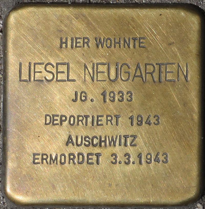Dortmund Stolperstein Liesel Neugarten.jpg