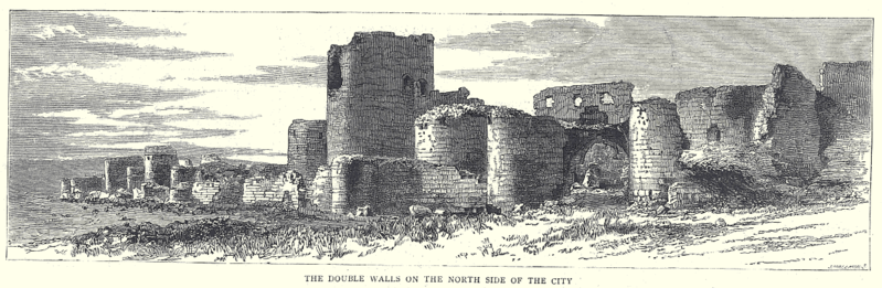 Datei:Double-Walls-Northside-Ani-Armenia-1885.png