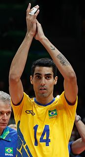 Douglas Souza Brazilian volleyball player