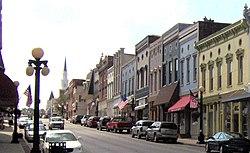 Downtown Harrodsburg Kentucky 2