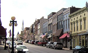 Harrodsburg, Kentucky - Downtown Harrodsburg, 2007