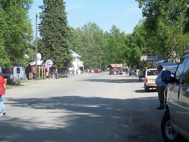 File:Downtown Talkeetna.jpg