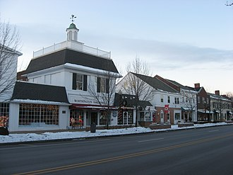 Worthington, Ohio - High Street in 2010