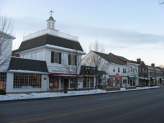 Worthington, Ohio - High Street in 2010