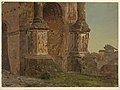 Drawing, Arch of Septimius Severus, Rome, February 1869 (CH 18199495).jpg