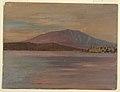 Drawing, Mt. Katahdin from Togue Pond, 1877 (CH 18201447).jpg