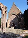dreumel rijksmonument 14069 nh kerk, koor met ruïne schip