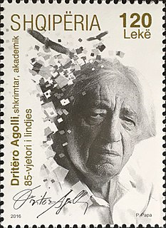 Dritëro Agolli Poet, writer, politician